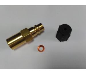 Adapter do zaworów klimatyza. RV-20 1/4 SAE REFCO