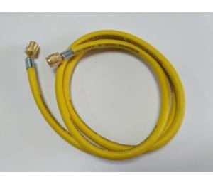 """Przewód ciśnieniowy 72"""" 180cm 1/4"""" żółty Shineyear"""