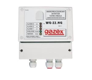 Detektor tlenku węgla garaż, wym.sens.,WG-22.EN